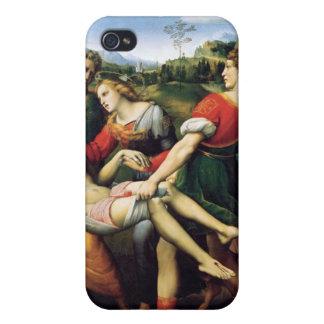 deposizione by Raffaello Sanzio da Urbino iPhone 4/4S Cover