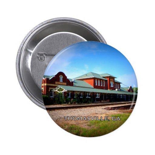 DEPOT - Thomasville, Georgia Buttons