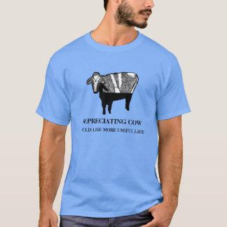 Depreciating Cow: Accounting Humor T-Shirt