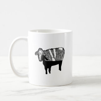 Depreciating Cow: Funny Accounting Humour Mug