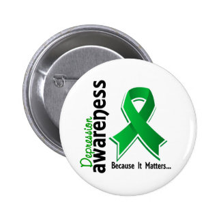 Depression Awareness 5 6 Cm Round Badge