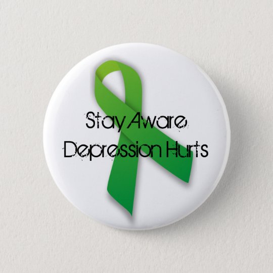 Depression Awareness Button