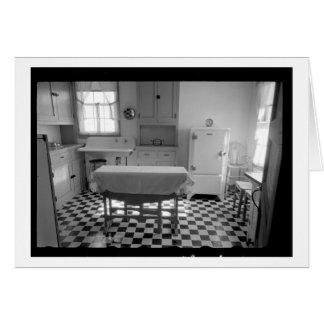 Depression-Era Farm Kitchen Card