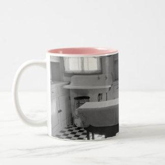 Depression-Era Farm Kitchen Two-Tone Mug