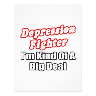 Depression Fighter Big Deal Full Color Flyer