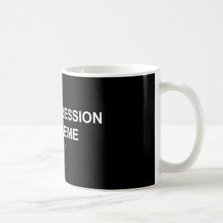 Depression/Meme - Black/White Mug