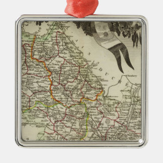 Dept About L'Isere Christmas Ornament