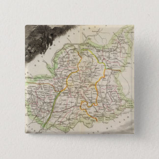Dept About Low Alps 15 Cm Square Badge
