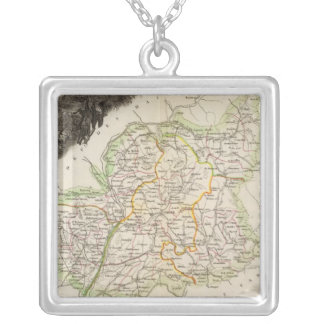Dept About Low Alps Silver Plated Necklace