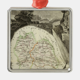 Dept Any Lozere Christmas Ornament