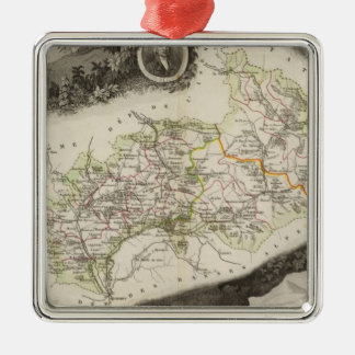 Dept De Hautes Alpes Christmas Ornament