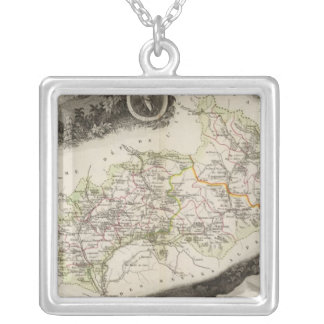 Dept De Hautes Alpes Silver Plated Necklace