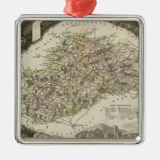 Dept. De La Hte Saone Christmas Ornament