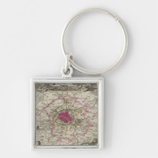 Dept. De La Seine Key Ring