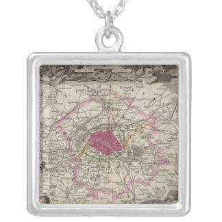 Dept. De La Seine Silver Plated Necklace