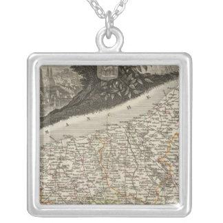 Dept. De La Siena Bottom Silver Plated Necklace
