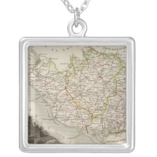 Dept. De La Vendee Silver Plated Necklace