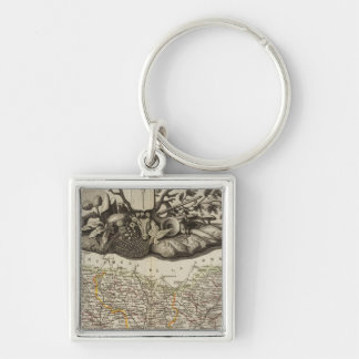 Dept. De L'Oise Key Ring