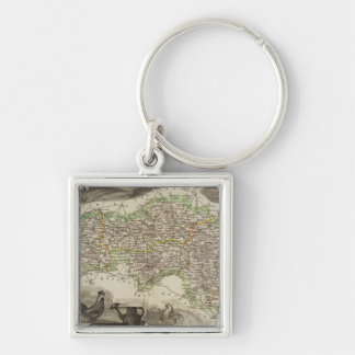 Dept. De L'Orne Key Ring