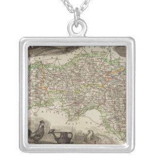 Dept. De L'Orne Silver Plated Necklace