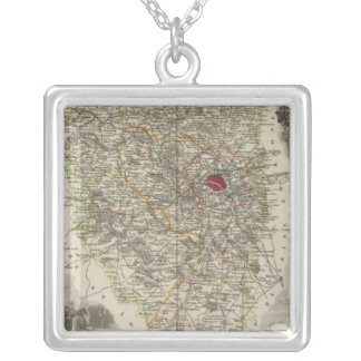 Dept. De Seine and Oise Silver Plated Necklace