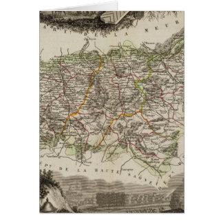 Dept Des Vosges Card