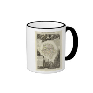 Dept D'Indre and Dormouse Mugs