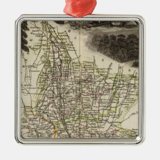 Dept Of Htes Pyrenees Christmas Ornament