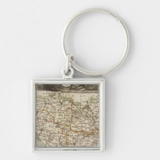 Dept. of Morbihan Key Ring