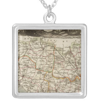 Dept. of Morbihan Silver Plated Necklace