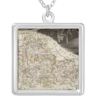 Dept. of Moselle Silver Plated Necklace