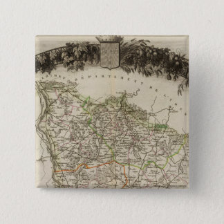 Dept. of Ni�vre 15 Cm Square Badge