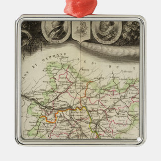 Dept Of Tarn et Garonne Christmas Ornament