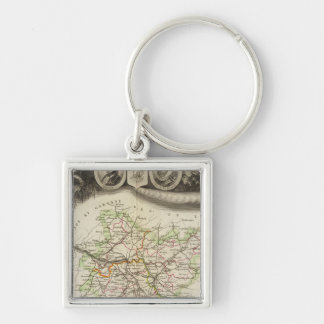 Dept Of Tarn et Garonne Key Ring