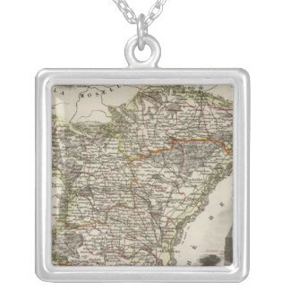 Dept. of the Lower Rhine Silver Plated Necklace