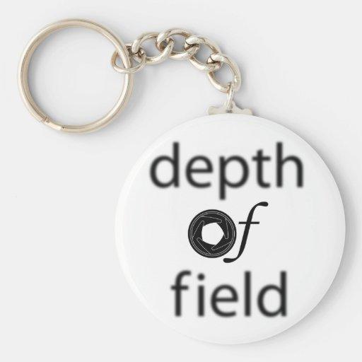 Depth of Field Keychain