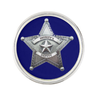 Deputy Sheriff Badge Lapel Pin