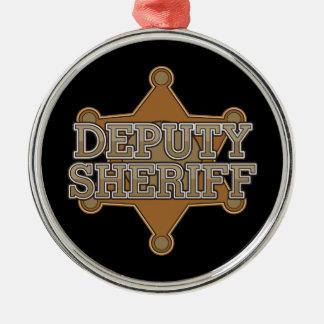 Deputy Sheriff Christmas Ornament