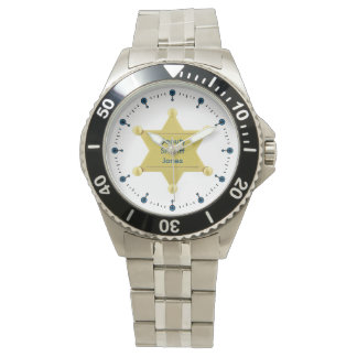 Deputy Sheriff Custom Watch