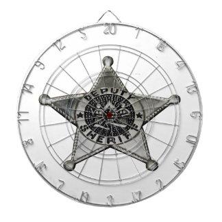 Deputy Sheriff Dartboard
