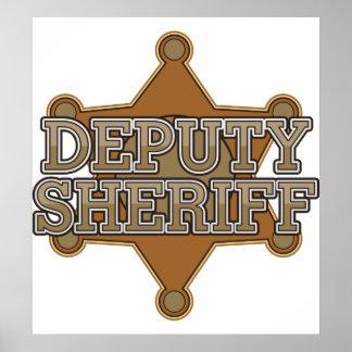 Deputy Sheriff Poster