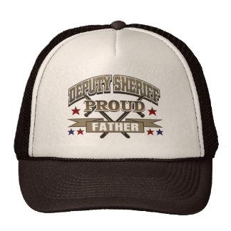 Deputy Sheriff Proud Father Trucker Hat