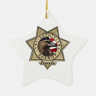 Deputy_Sheriff_Reserve Ceramic Star Decoration