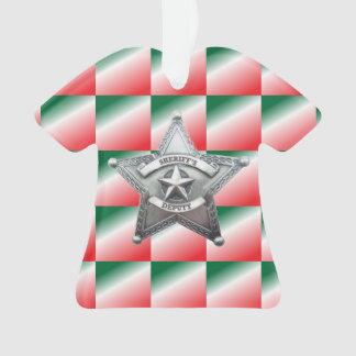 Deputy Sheriff's Star Badge