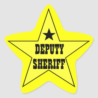 Deputy Sheriff Stickers