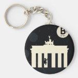 Der Bär auf Berlin - Brandenburger Tor Schlüsselanhänger