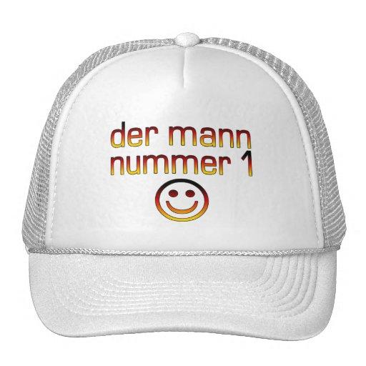 Der Mann Nummer 1 - Number 1 Husband in German Mesh Hats