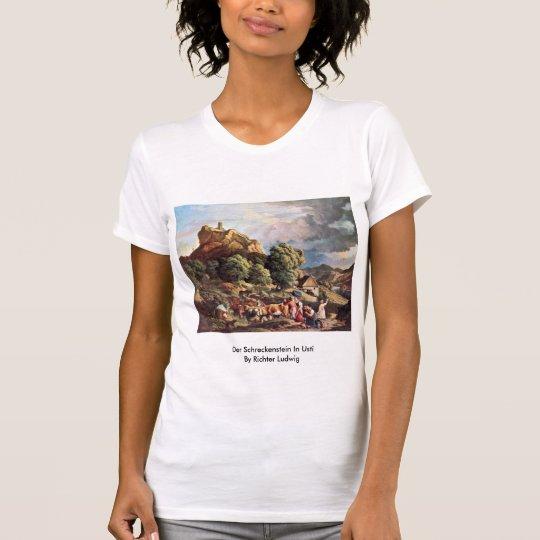 Der Schreckenstein In Usti By Richter Ludwig T-Shirt
