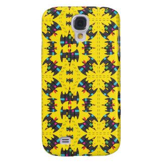 Der Stijl Bat Symbol Pattern Galaxy S4 Case