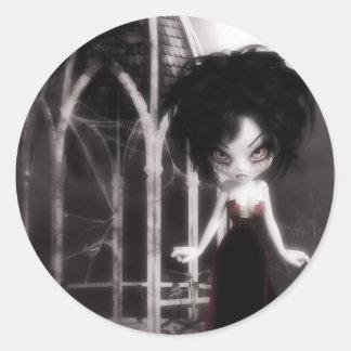 Deranged Dolly Alone Sticker